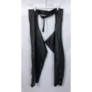 Unisex First Classics Leather Chaps Size 3X!